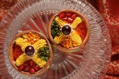 Panadería de los dulces de los bocados de la comida fesstival Foto de archivo libre de regalías