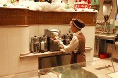 Panadería del Crepe del francés Imagen de archivo libre de regalías
