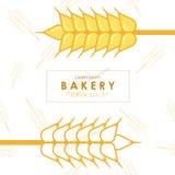 Panadería del trigo Imágenes de archivo libres de regalías