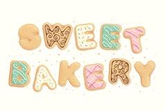 Panadería dulce Fotos de archivo libres de regalías