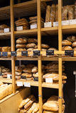 Panadería en Girona, España Foto de archivo