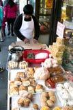 Panadería en la ciudad de China Fotos de archivo libres de regalías
