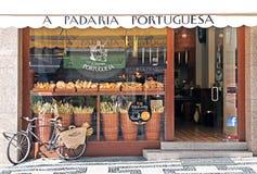 Panadería en Lisboa Foto de archivo libre de regalías