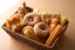 Panadería en ventana Fotografía de archivo