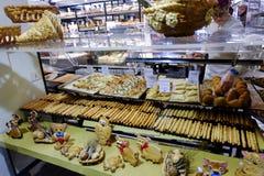 Panadería italiana foto de archivo libre de regalías