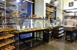 Panadería italiana imagenes de archivo