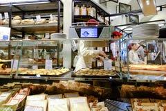 Panadería italiana foto de archivo