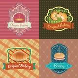 Panadería Logo Vintage Retro Labels libre illustration