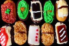 Panadería por estilo del sushi foto de archivo