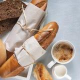 Panadería que diseña la comida sana Imagenes de archivo