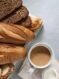 Panadería que diseña la comida sana Imágenes de archivo libres de regalías