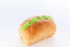 Panadería verde de las natillas imagen de archivo libre de regalías