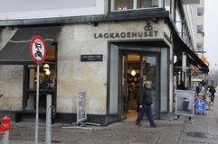 Panadería de Lagkagenhuset_chain Imagenes de archivo