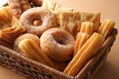 Panadería en ventana Imagenes de archivo