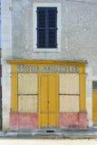 Panadería, Francia Imagen de archivo libre de regalías