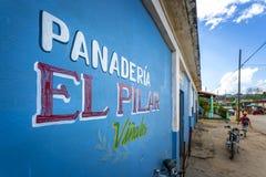 Panaderia UNESCO, Vinales, Pinar del Rio Province, Kuba, västra Indies som är karibiska, Central America royaltyfria foton