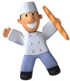 Panadero stock de ilustración