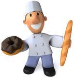 Panadero ilustración del vector