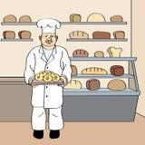 Panadero Imagen de archivo libre de regalías