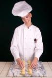 Panadero del rodillo de la cena Imagen de archivo libre de regalías