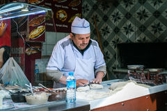Panadero en Estambul, Turquía Fotos de archivo libres de regalías