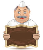 Panadero feliz libre illustration