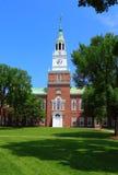 Panadero Library Building de la universidad de Dartmouth fotos de archivo libres de regalías