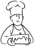 Panadero (vector) Imagen de archivo