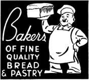 panaderos Fotografía de archivo libre de regalías