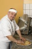 Panaderos de la pizza Fotografía de archivo