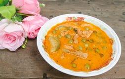 Panaeng-Curry ist eine Art thailändischer Curry, der im Allgemeinen milder ist Lizenzfreies Stockbild