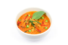 Panaeng curry med pork royaltyfria bilder