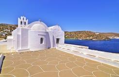Panaghia Chrisopigi church Sifnos Greece Stock Photos