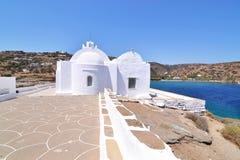 Panaghia Chrisopigi church Sifnos Greece royalty free stock photography