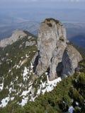 Panaghia Mountain Pinnacle royalty free stock image