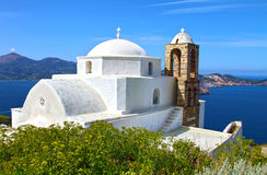 Panaghia Thalassitra church in Milos Greece Royalty Free Stock Images