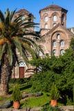 Panagia Chalkeon教会,塞萨罗尼基,希腊 库存照片