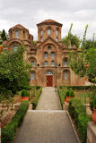 Panagia Chalkeon Church in Thessaloniki, Greece royalty free stock photo