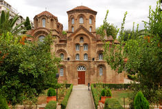 Panagia Chalkeon Church in Thessaloniki, Greece Royalty Free Stock Photography
