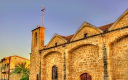 Panagia Chrysaliniotissa Orthodox Church in Nicosia Stock Image
