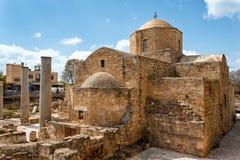 Panagia Chrysopolitissa Basilica in Paphos,Cyprus Royalty Free Stock Photos