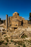 The Panagia Chrysopolitissa church Royalty Free Stock Photo
