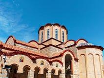 Panagia Dovra, Greek Orthodox Church,. The Greek Orthodox Church at Panagia Dovra, Veria, Macdonia, Northern Greece Royalty Free Stock Photography