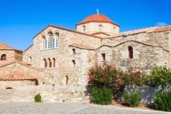 Panagia Ekatontapyliani教会,帕罗斯岛 免版税图库摄影