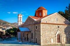 Panagia Eleousa Church at Agros village. Limassol District, Cypr Stock Photography