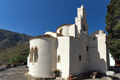 Panagia Episkopi Church in Santorini island, Thira, Greece Royalty Free Stock Image