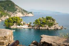 Panagia Island, Parga, Greece Stock Photo
