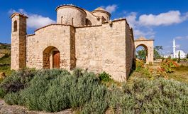Panagia Kanakaria Church and Monastery in the turkish occupied side of Cyprus 22. Panagia Kanakaria Church and Monastery dating back to the early byzantine stock photography