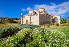 Panagia Kanakaria Church and Monastery in the turkish occupied side of Cyprus 10. Panagia Kanakaria Church and Monastery dating back to the early byzantine royalty free stock images