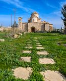 Panagia Kanakaria Church and Monastery in the turkish occupied side of Cyprus 20. Panagia Kanakaria Church and Monastery dating back to the early byzantine stock images